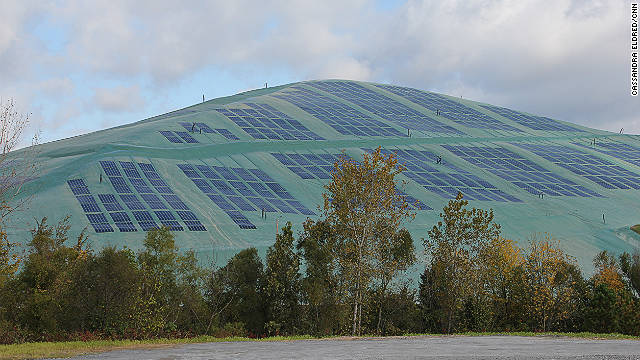 Underneath these solar arrays can be 10 million plus cubic yards of ...